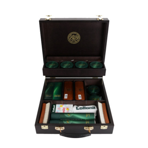 1909 Shoe Care Set Box